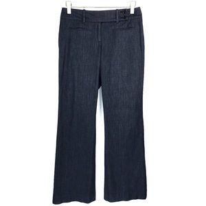 LOFT Ann Taylor Dark Blue Julie Curvy Fit Pants 2P